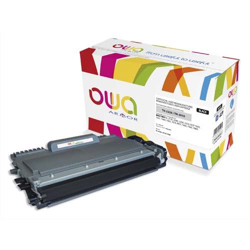 Code 604813, Désignation: OWA Cartouche laser compatible BROTHER TN-2220 K15417OW